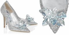 Step into Jimmy Choo's glass slipper to claim your identity as today's Cinderella! The crystal covered pointy toe pump,christened Cinderella Slipper, from the British high fashion house is available for $4,595. To mark the release of Disney's live action film inspired by the classic fairy tale Cinderella, Jimmy Choo Creative Director Sandra Choi has designed …