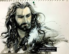 Thorin (The Hobbit) by evankart
