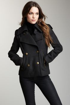 Marc New York Outerwear Mia Wool Jacket// ~ I NEED this jacket!!!!!