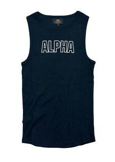 Alpha Industries Track Top black