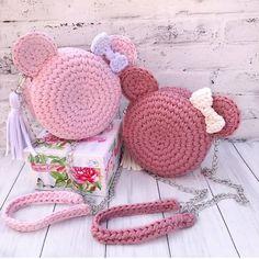Kawaii Crochet, Cute Crochet, Crochet Crafts, Yarn Crafts, Crochet Projects, Crochet Backpack Pattern, Crochet Dolls Free Patterns, Crochet Designs, Bag Patterns