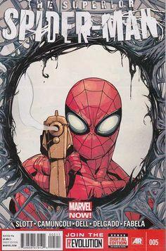Superior Spider-man #5 Regular Giuseppe Camuncoli Cover
