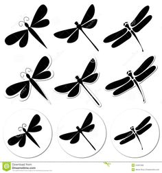 dragonflies templates - Google Search