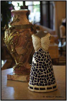 International mosaic artist specializing in mosaic dress sculptures and mosaic portraits. Spa Reception, Sculptures For Sale, Orient Express, Santa Barbara, Mosaics, Beverly Hills, Tile, Artist, Inspiration