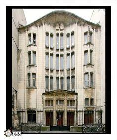 Synagogue (1913) 10 rue Pavée Paris 75004. Architecte Hector Guimard