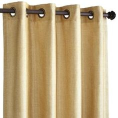 """$35  sale    Shimmer Curtain - Gold 96"""""""