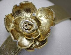 Handmade Fabric Covered Headband with Leather by LeatherNstuff, $30.00