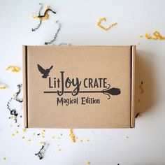 LitJoy Crate Magical Edition Year Six Harry Potter themed Limited Edition Box is coming soon + spoilers! Harry Potter Subscription Box, Book Subscription, Litjoy Crate, Potter Box, Children's Picture Books, 3 Things, Deck Of Cards, Crates, Marketing