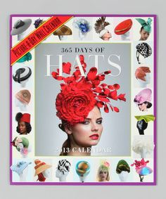 Month by Month: Calendars - 365 Days of Hats   Zulily