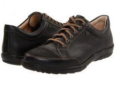 Finn Comfort Alamo 1288 (Black) Men's Lace up casual Shoes