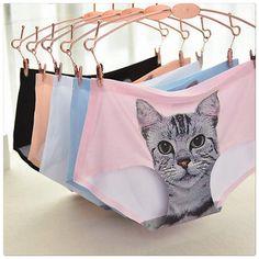 Cat lovers panties.