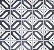 Cuban Heritage Design 100 2A Handmade Cement Tile