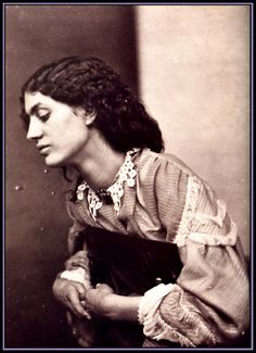 Jane Burden Morris, 1865