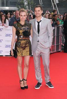 Diane Kruger and Joshua Jackson Photo - National Movie Awards 2010 - Red Carpet Arrivals