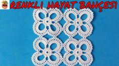Dowry Lace Hall Showcase and Room Set - Narrated Construction - Mesh Lace Oya Handicraft Crochet Edging Patterns, Crochet Motifs, Square Patterns, Crochet Squares, Crochet Granny, Irish Crochet, Crochet Designs, Crochet Doilies, Crochet Flowers
