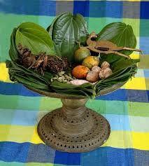 Banarasi Paan betel nuts arranged on betel leaves.