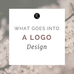 What Goes Into a Logo Design