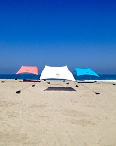 Beach Tent with Sand Anchor, Portable Canopy for Shade (Teal) Neso Tents http://www.amazon.com/dp/B00ZQCYL4I/ref=cm_sw_r_pi_dp_iYWQvb03MSWXW
