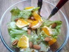 Svěží salátek s vychlazeným pomerančem a sladkou zálivkou Pavlova, Ethnic Recipes, Blog, Diet, Blogging