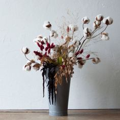 Shop the Project: Cotton & Hanging Amaranth Bouquet in Garden GREENHOUSE Bunches at Terrain