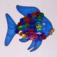 Great Pre School Ideas for Ocean Life (Rainbow Fish)