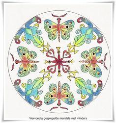 Mandala to draw to colour inspiration