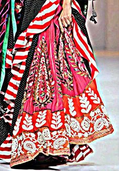 Lehenga, how colorful!