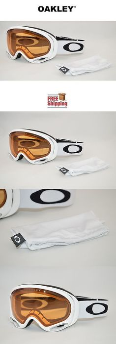8ef57c25efb7 Goggles and Sunglasses 21230  Oakley Splice 59-517J Snow Goggles 1975 Blue  Orange Frame W Hi Persimmon Lens -  BUY IT NOW ONLY   47.88 on eBay!