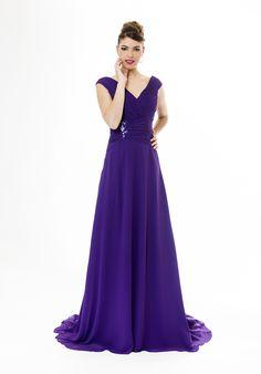 Vestido de Fiesta de X&M  (9654), largo