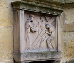 https://flic.kr/p/CyZjd3   Jesus nimmt das schwere Kreuz auf sich   St.-Paulus-Dom, Münster
