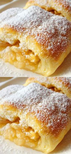 Apple Desserts, Apple Recipes, Holiday Recipes, Pastry Recipes, Baking Recipes, Dessert Recipes, Good Food, Yummy Food, Most Delicious Recipe