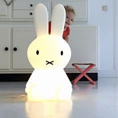 Lampe veilleuse Miffy XL - Mr Maria   Comptoir des Lustres