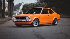 Even Corollas used to look good