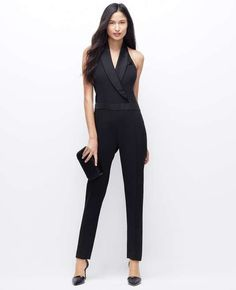 Love the ann taylor Tuxedo Jumpsuit on Wantering. @gtl_clothing #getthelook http://gtl.clothing