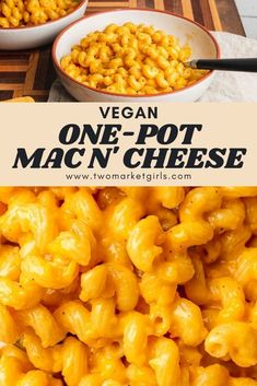 Ooey-gooey vegan mac n' cheese made in just a single pot on the stove. So not only is this delicious, it takes no time at all and the clean up is easy! The perfect weeknight dinner for the whole family.
