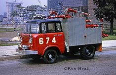 Chicago FD Turret Wagon 6-7-4 Willys Jeep