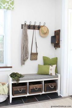 Mudroom Decorating and Storage Ideas