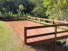 Sloped Backyard Landscaping, Sloped Garden, Ponds Backyard, Backyard Patio, Outdoor Grill Space, Backyard Office, Floating Deck, Craftsman Exterior, Waterfront Homes