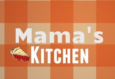 Mama's kitchen  } Wall Art sign Plaque Home decor rustic Cooking Wood Retro Sign #Handmade #Country