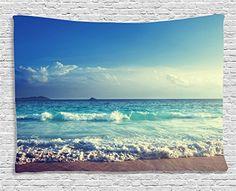 Ocean Decor Tapestry by Ambesonne, Tropical Island Paradi... https://www.amazon.com/dp/B01MG2MK8X/ref=cm_sw_r_pi_dp_x_xVMrzbJJ7KT64