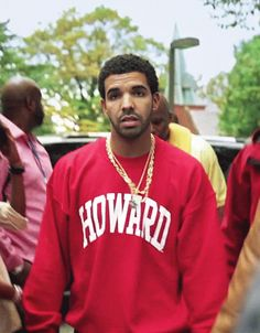 Drake - gotta love the shirt! HU