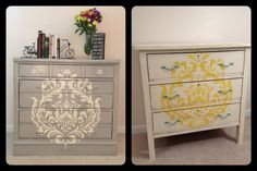Chalk Painted French Linen and Old White by FurnitureAlchemy