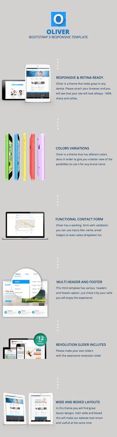 Oliver – HTML5 Multipurpose Template (Corporate)