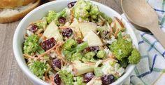 Brocoli, pommes, bacon et canneberges...La salade idéale - Recettes - Ma Fourchette