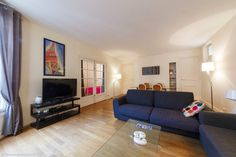 Light and comfortable family apartment for rent at Rue du Faubourg Saint-Honoré in the 8th arrondissement of Paris.