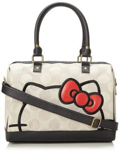 497f62c06a Hello Kitty Hello Kitty Polka Dot Duffle Top Handle Bag  (1000000000062793341) Shoulder strap length