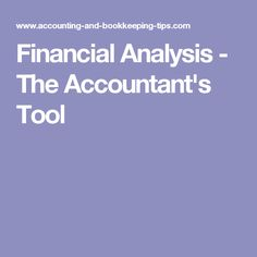 Financial Statement  Financial Statement And Managerial Accounting