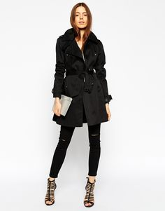 Image 4 of ASOS Classic Trench