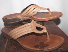 3554325fb2fc Merrell Tan Leather T Strap Sandals