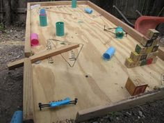idea for tinkering camp - making pinball machines